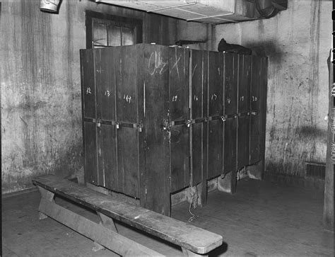 the locker room file locker room in washhouse used by miners southern coal corporation bradshaw mine
