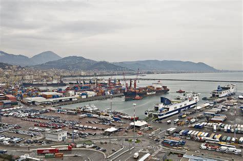 porto di salerno autostrade mare inaugurata la nuova linea salerno