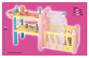 Baby doll crib center play set no 29726 06 playpen n baby gym play set
