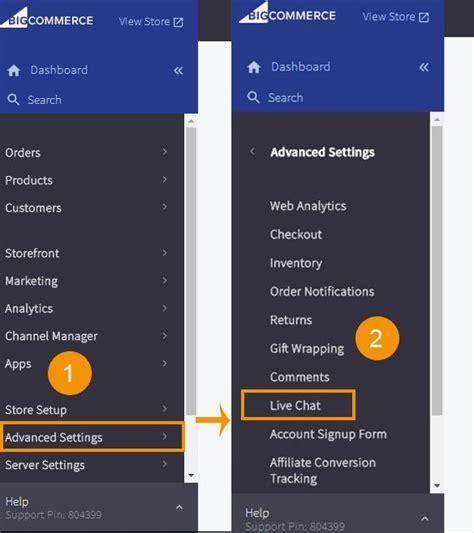Bigcommerce Live Chat Plugin Bigcommerce Widget Integration Reve Chat Bigcommerce Checkout Template