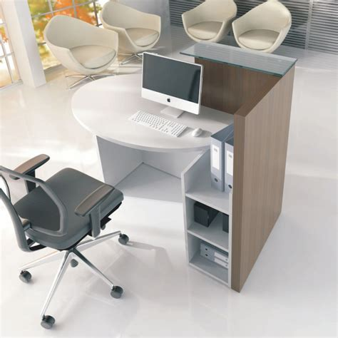 Rem Saturn Reception Desk Small Reception Desks Hostgarcia