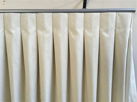 reverse pleat drapery stackless curtain www remlaptracking com
