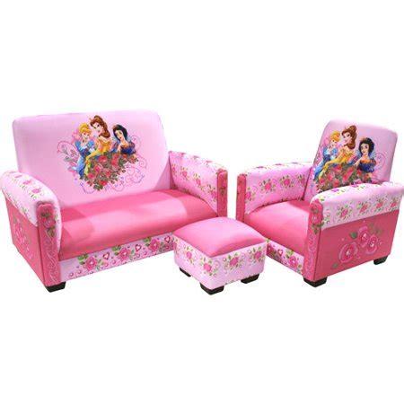 disney princess jeweled gardens toddler sofa chair and