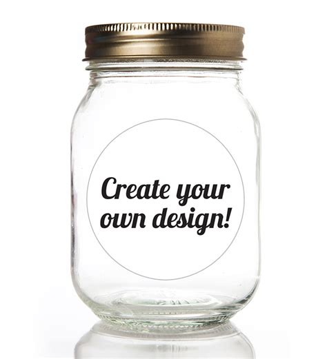 create your own label template canning labels