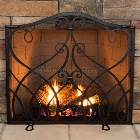 Horchow Home Decor Williamsburg Cypher Collection Small Fireplace Screen