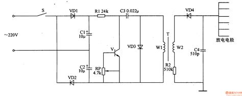 resistor capacitor pulse generator gt circuits gt negative oxygen ion generator 4 l51139 next gr