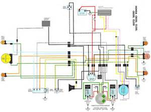 modified cl350 wiring diagram stock wiring with pamco elec flickr