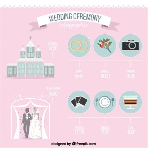 Wedding Ceremony Elements wedding ceremony flat elements vector free