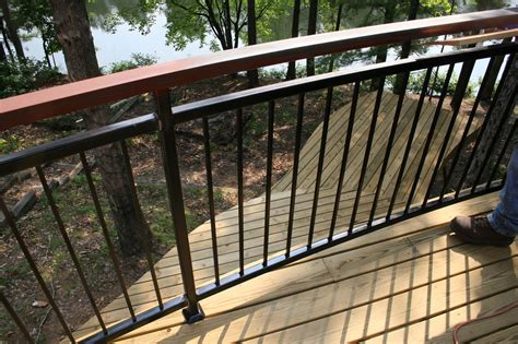 Patio Deck Railing Designs Deck Railing Designs Wood Distinctive And Various Composite Terrace Railing A Few Ideas Door