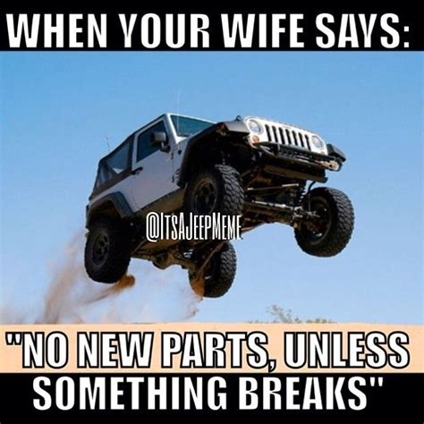 Funny Jeep Memes - pin by william johnson on car humor pinterest