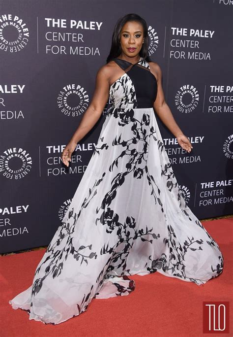 african american red carpet looks uzo aduba in bibhu mohapatra at paley center tribute to