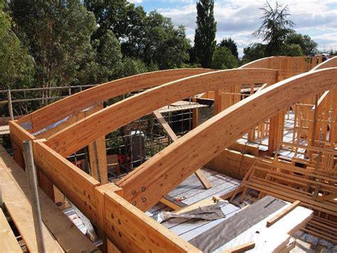 a frame building glulam beam portal frame vision development