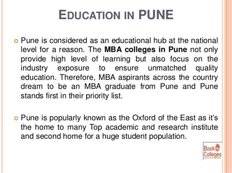 Mba It Colleges In Pune by Find Best Mba Colleges In Pune