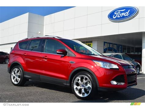 in color 2014 2014 ruby ford escape titanium 2 0l ecoboost 85309940