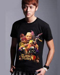 coc clash of clans t shirt lava hound t shirt sleeve