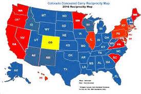 colorado concealed carry reciprocity map level 1 firearms colorado ccw nra classes