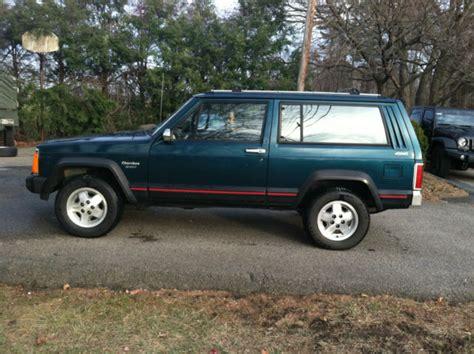 1995 jeep xj 1995 jeep xj sport 4x4 2 door 5 speed manual