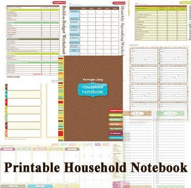 free printable household organizer 41 best images about templates on pinterest small group