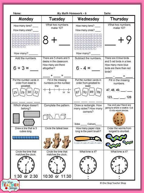 3rd grade daily math review worksheets best 25 daily math ideas on