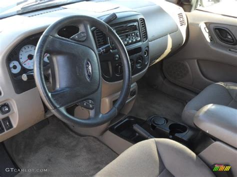2001 Ford Escape Interior by Medium Parchment Beige Interior 2001 Ford Escape Xlt V6