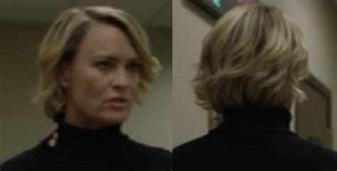 progression of robin wrights hair in house of cards progression of robin wrights hair in house of cards