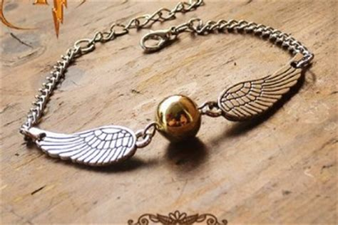 The Golden Snitch Bracelet Harry Potter Voldemort Dumbledore Hogwart cheap harry potter gifts for 5 or less surviving a s salary