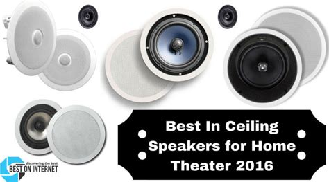 best in ceiling speakers for home theater in 2017