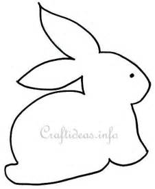 rabbit cut out template 17 best images about appliqu 233 on sewing