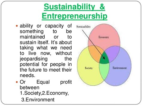 sustainable entrepreneurship green economy opportunities for entrep