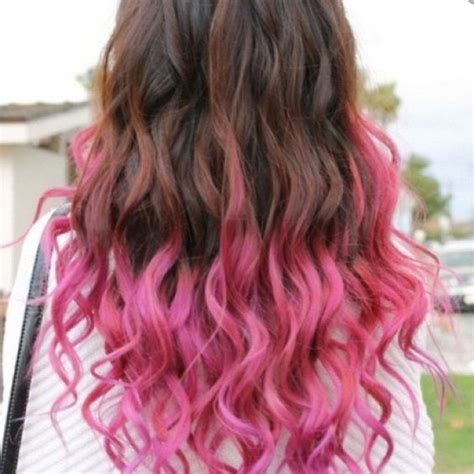 pink highlighted hair 50 highlighted tips of hair pink highlights for brown hair