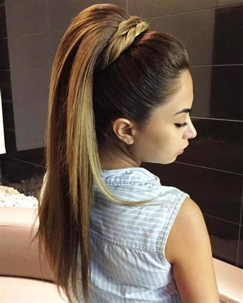 creative hairstyles for long straight hair creative high ponytail hairstyles that you never tried