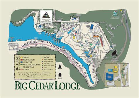 big cedar lodge map bluegreen wilderness club at big cedar wilderness