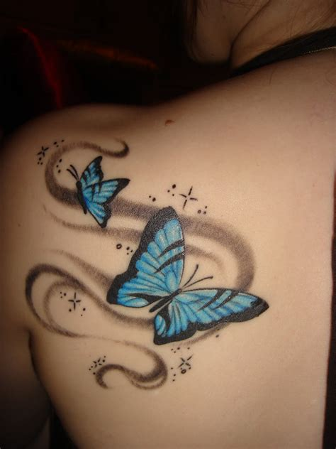 blue butterfly tattoo designs tattoo expo