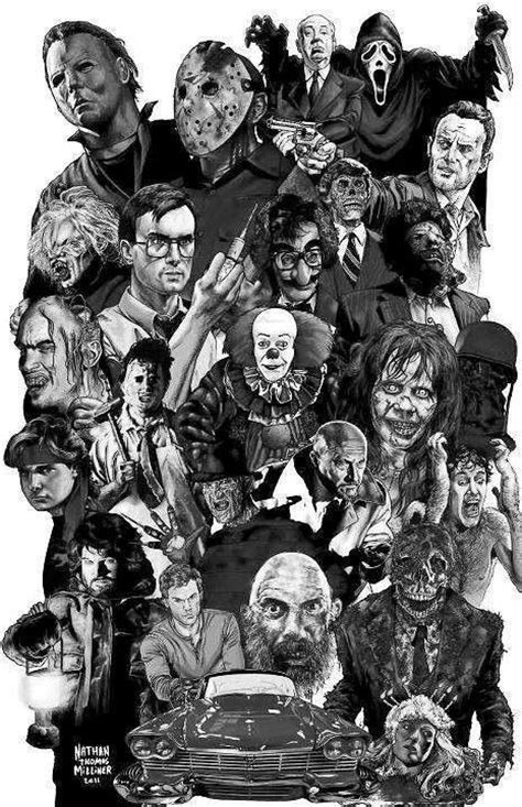 Horror movie collage | Horror movies | Pinterest | Movies