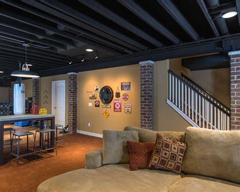 creative basement ideas cheap modern ceiling lights exposed basement ceiling