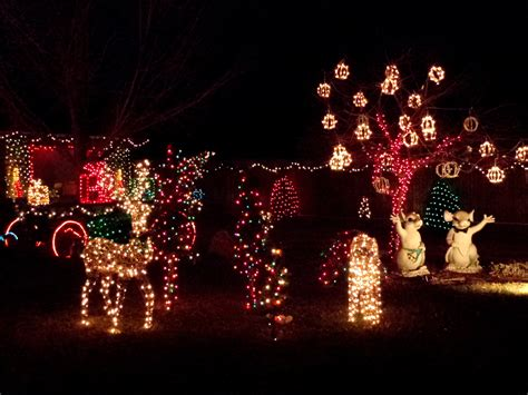 holiday lights christmas yard decorations picture free