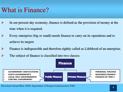 what is a one chapter 1 financial management