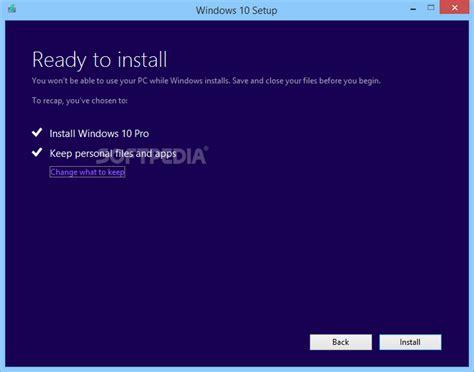 install windows 10 with media creation tool media creation tool download softpedia