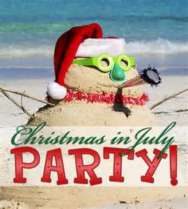 tis the season christmas in july party