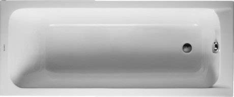 baignoire duravit d code d code bathtub with support for standard