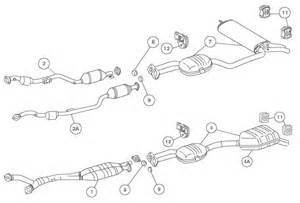Exhaust System Diagram Ford F150 1997 F150 Exhaust Diagrams 1997 Free Engine Image For