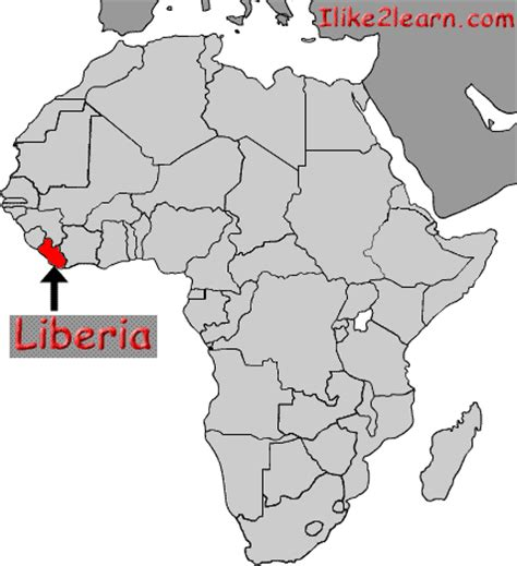 where is liberia located on the world map liberia