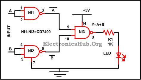 calculator xor basic logic gates using nand gate not or and gates