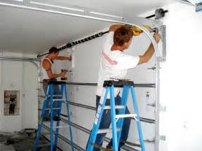 Our technicians install both garage doors and garage door openers