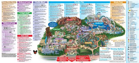 disney california adventure map disneyland park map in california map of disneyland