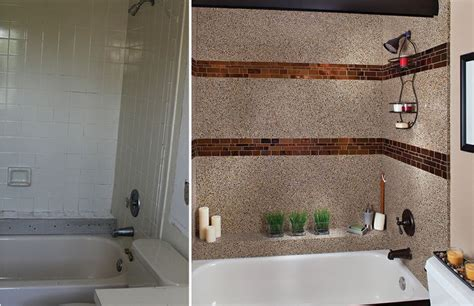 bathroom transformations before and after totally reved bathtub by granite