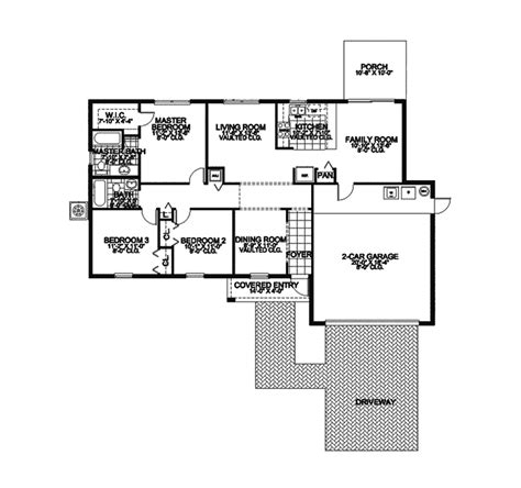 southwestern floor plans lavender hill southwestern home plan 106d 0008 house