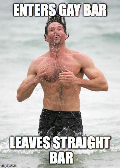 Hugh Jackman Meme - ridiculously unphotogenic guy