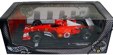 Diecast Mobil Hotwhell Isi 10 Pcs Limited hotwheels michael schumacher f2002 150 grand prix