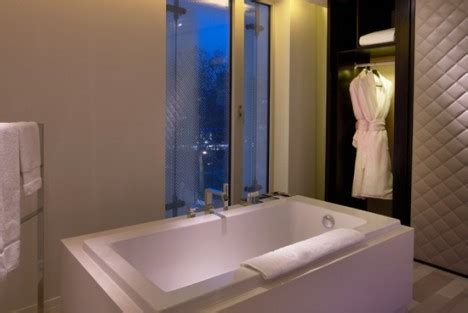 w hotel bathroom w hotels debuts on london s leicester square